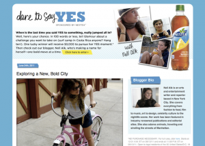 "Nestea ""Dare to Say Yes"" Campaign: ""Exploring a New, Bold City"" on Glamour"