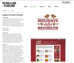 Case Study: Holidays in the Heart of Brooklyn