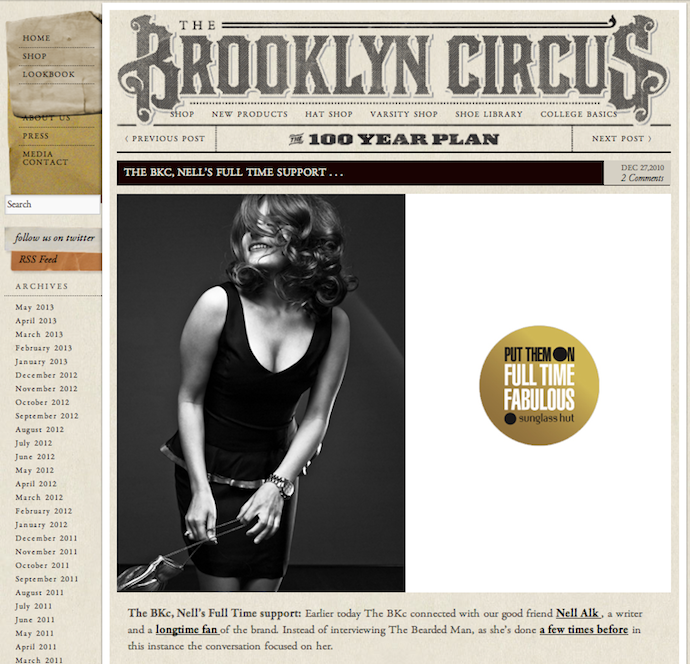 On the Brooklyn Circus Blog