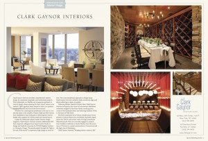 Clark Gaynor Interiors: Portfolio Ad X New England Home Journal