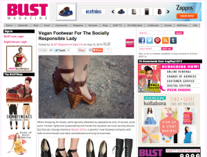 Blog: Stephanie Fryslie's Socially Responsible Shoe Brand Nicora Johns