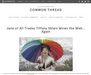 Blog: Filmmaker Tiffany Shlain X The Future Starts Here
