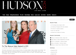"Blog: HSUS' 2013 ""To the Rescue"" Gala"