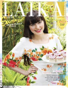 Copyediting: Laika Magazine Second Issue/Summer 2013