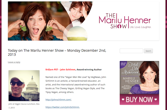 The Marilu Henner Show for Tiffany Shlain