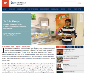 Interview: New York Coalition for Healthy School Food Executive Director Amie Hamlin