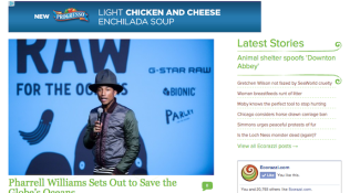 """Feature: """"Pharrell Williams Sets Out to Save the Globe's Oceans"""""""
