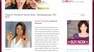 The Marilu Henner Show for New York Coalition for Healthy School Food