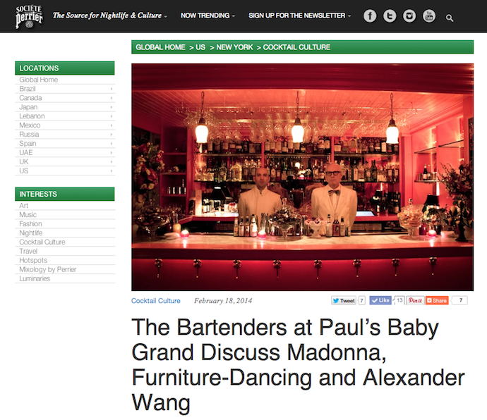 Feature: Paul's Baby Grand