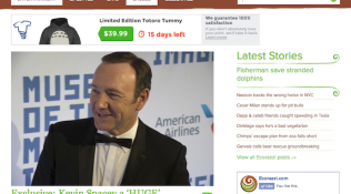 "Feature: ""Kevin Spacey a 'HUGE' Advocate for Animal Adoption"""
