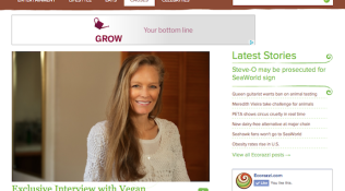 """Exclusive Interview with Vegan Environmentalist Suzy Amis"""