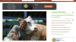 """In-Depth Interview with Farm Sanctuary Founder Gene Baur"""