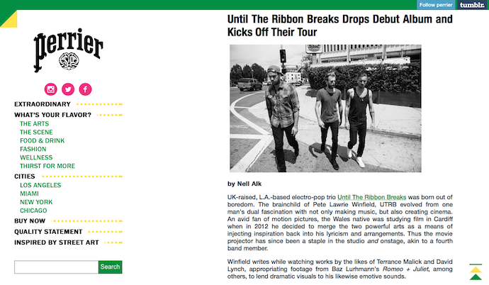 Interview: Until The Ribbon Breaks