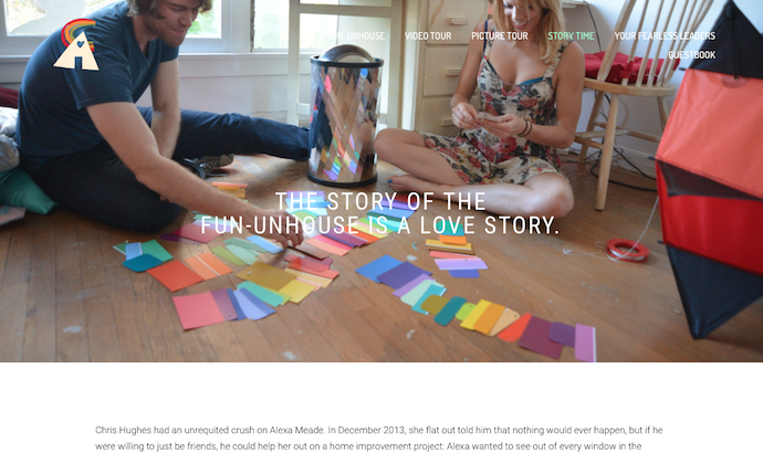 COPYWRITING: FUN-UNHOUSE WEBSITE